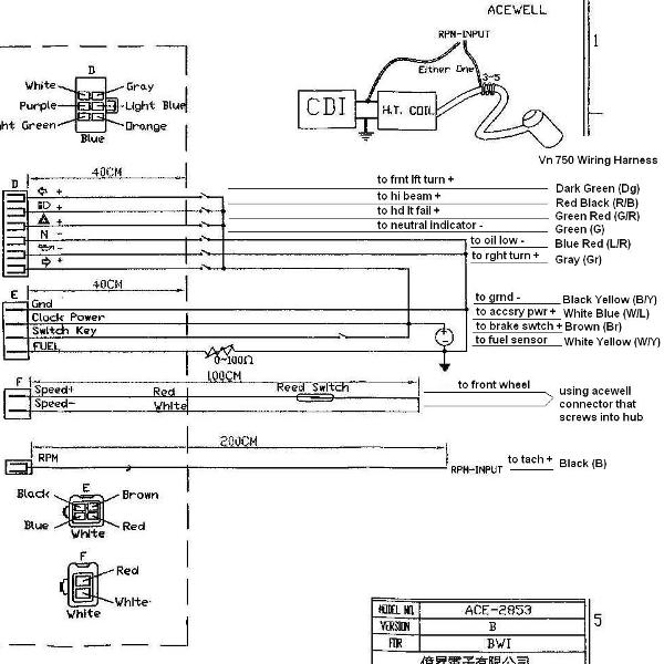 Aftermarket Electronic Speedometer Wiring Diagram. repair guides electrical  system 1999 meters and. repair guides electrical system 1997 meters and.  how to duratec aftermarket tachometer installation page 4. repair guides  instrument panel gauges2002-acura-tl-radio.info